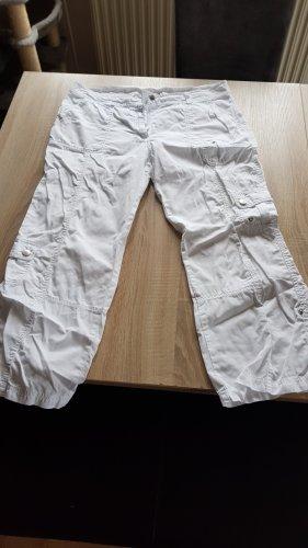 Gina Benotti Pantalone a 3/4 bianco