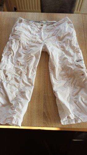Blue Flame Pantalone Capri bianco
