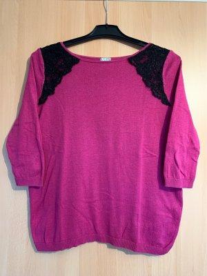 Topshop Sweatshirt violet-noir