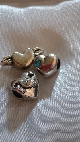 Ciondolo argento-turchese