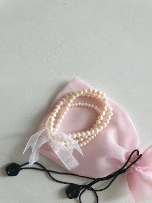 3 er Perle Armbänder mit Schleife