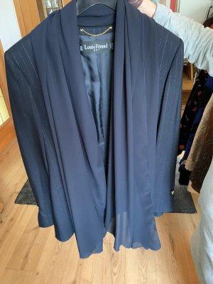 Louis Feraud Pinstripe Suit dark blue