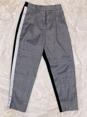 WRSTBHVR Pantalone peg-top bianco-nero