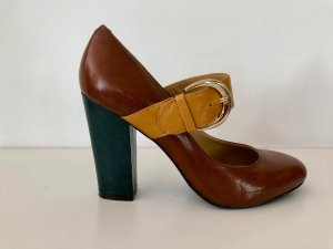 Nine west Backless Pumps multicolored leather