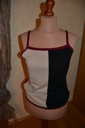 Apart Knitted Top multicolored polyacrylic