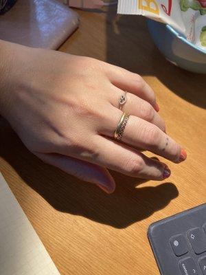 3 filigrane Ringe