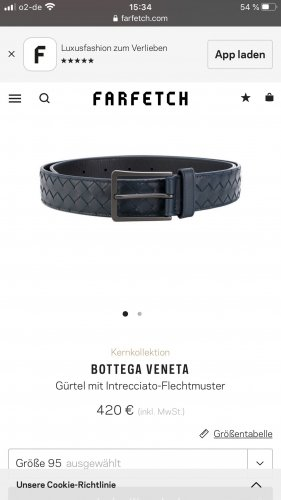 Bottega Veneta Braided Belt multicolored leather