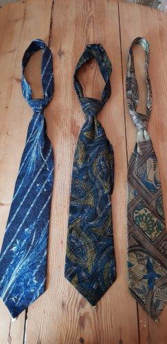 3 Hochwertige Seiden Krawatten von Alpi