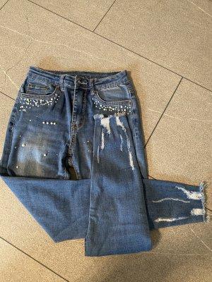 3 Hosen, schwarz,blau