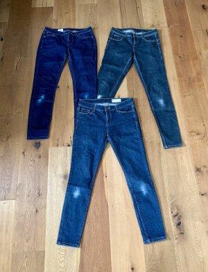 Street One Tube Jeans dark blue-blue cotton