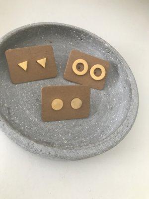 keine Clou d'oreille doré métal