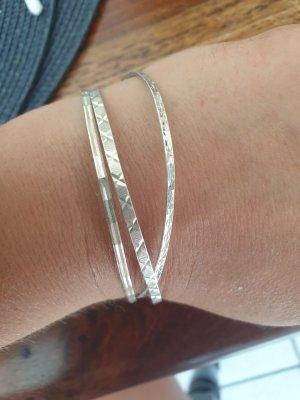 no name Bracelet en argent argenté