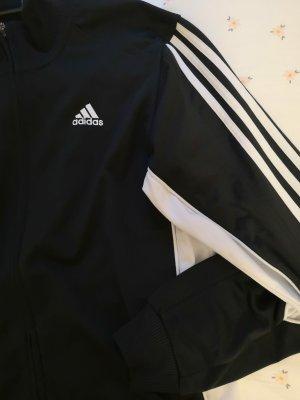 Adidas Sports Jacket black-white polyester