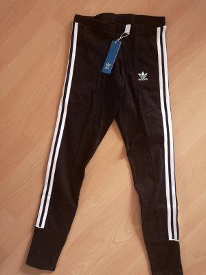 Adidas Legging wit-zwart Katoen
