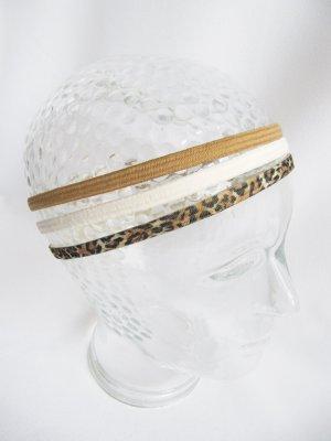 Nastro per capelli bronzo-crema