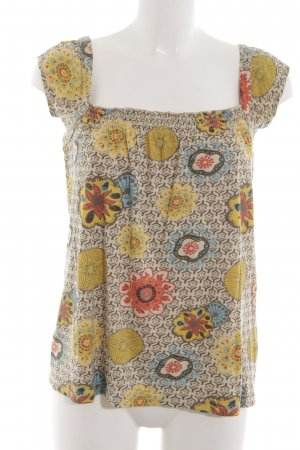 3 Suisses Sleeveless Blouse allover print casual look