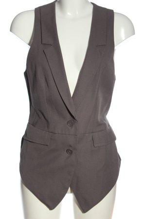 3 Suisses Chaleco de vestir gris claro estilo «business»