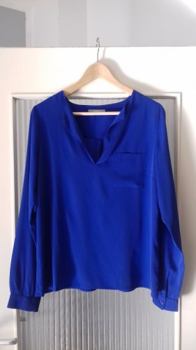 3 Suisses Slip-over blouse staalblauw Polyester