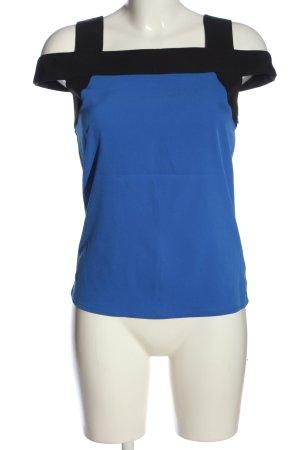 3 Suisses Podkoszulek na ramiączkach niebieski-czarny W stylu casual