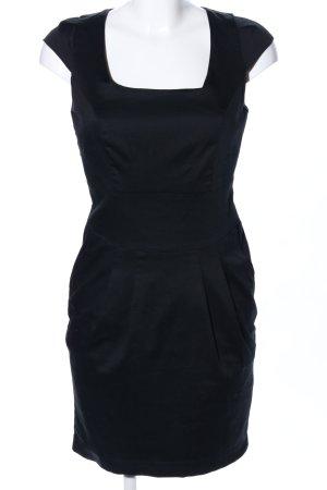 3 Suisses Sukienka etui czarny W stylu biznesowym