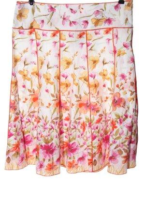 3 Suisses Rozkloszowana spódnica Na całej powierzchni W stylu casual
