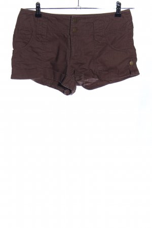 3 Suisses High-Waist-Shorts braun Casual-Look