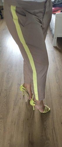 3 Suisses Jersey Pants beige-neon yellow
