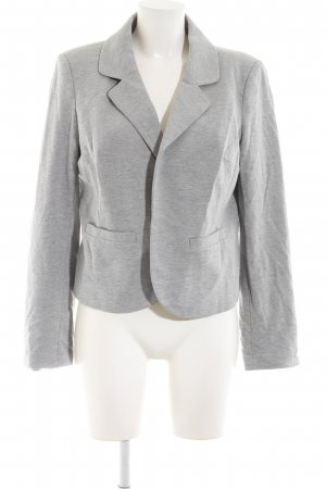 3 Suisses Jersey Blazer light grey flecked casual look
