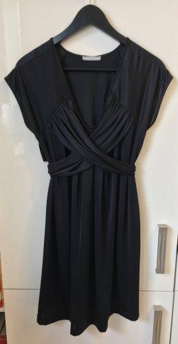3 Suisses Kleid mit Wickelband schwarz Gr.L NEU