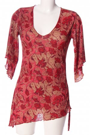 3 Suisses Bluzka z długim rękawem czerwony-w kolorze białej wełny