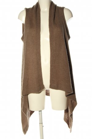 3 Suisses Long Knitted Vest brown casual look