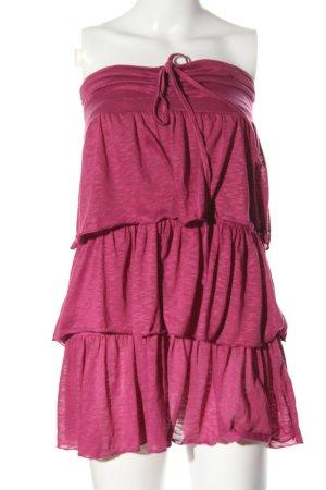 3 Suisses Minikleid pink meliert Casual-Look