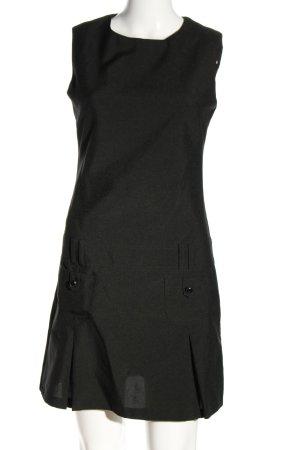 3 Suisses Mini vestido negro look casual