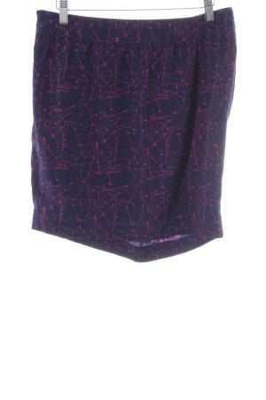 3 Suisses Minifalda estampado con diseño abstracto look casual