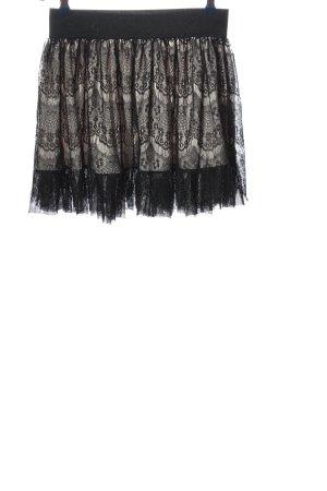 3 Suisses Spódnica mini czarny-jasnoszary Elegancki