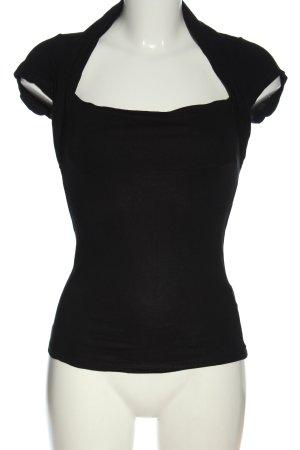 3 Suisses T-shirt nero stile casual
