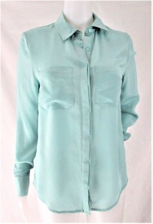 "3 SUISSES ""Premium Collection"" Seidenbluse/Pastellblau/ 100% Seide/ WIE NEU!"