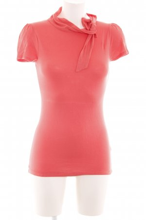 3 Suisses Colshirt rood casual uitstraling