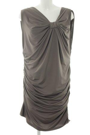3 Suisses Sukienka tuba brązowy Elegancki