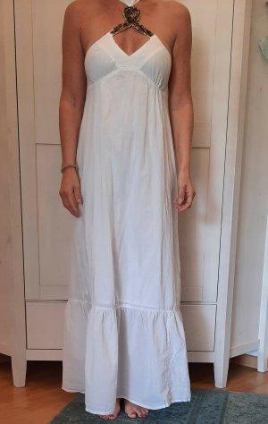 3 Suisses Maxi abito bianco-bronzo