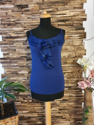 3 Suisses Spaghetti Strap Top dark blue viscose