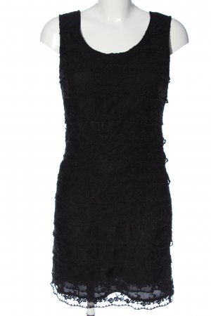 3 Suisses Kanten jurk zwart elegant