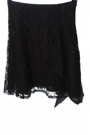 3 Suisses Lace Skirt black casual look