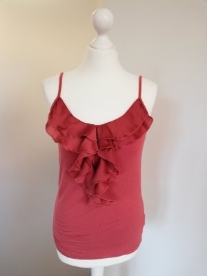 3 Suisses Frill Top bright red