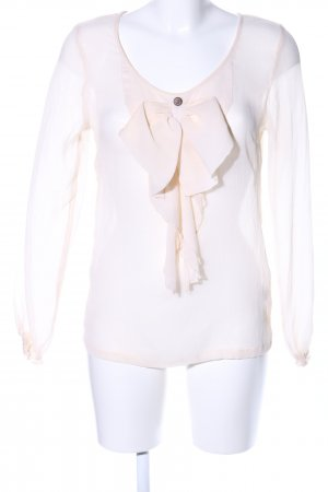 3 Suisses Transparent Blouse natural white casual look