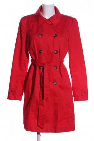 3 Suisses Trenchcoat rot Casual-Look
