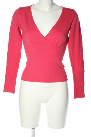 3 Suisses V-halstrui roze casual uitstraling