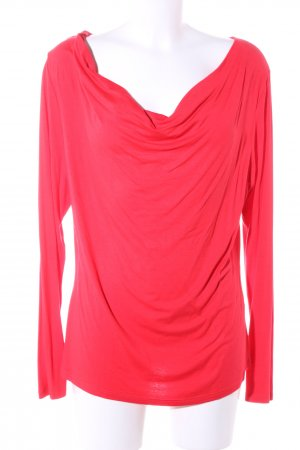 3 Suisses Cowl-Neck Shirt red casual look