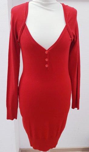 3 Suisses Woolen Dress red