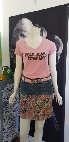 3 teile Designer outfit polo jeans jeandrock hexenwerk gürtel